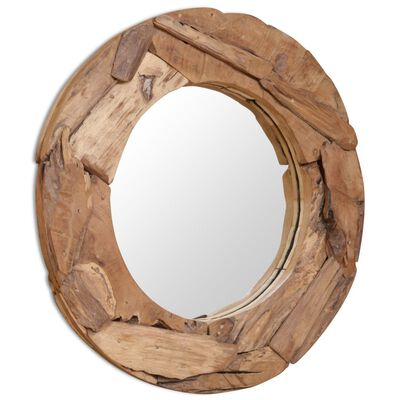 Our teak mirror is more than a practical day-to-day object; it is also an attractive decoration for your home.