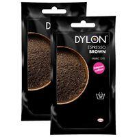 Dylon Hand Fabric Dye Sachet, Espresso Brown, 2 Packs Of 50g
