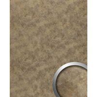 Wallface 20188-sa Wall Panel Metal Look Brown
