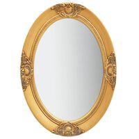 vidaXL Wall Mirror Baroque Style 50x70 cm Gold
