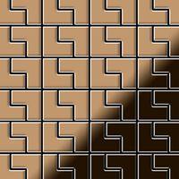 Alloy Kink-ti-am Metal Mosaic Titanium Copper
