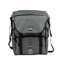Willex Bicycle Handlebar Bag 1200 25 L Anthracite 13513