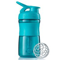 BlenderBottle Shaker Cup SportMixer 590 ml Teal