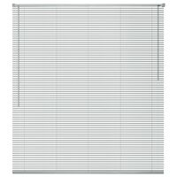 vidaXL Window Blinds Aluminium 60x130 cm Silver