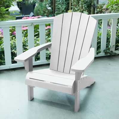 Keter Adirondack Chair Troy White