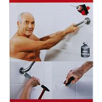 RIDDER Bathroom Accessory Glue Fix & Clean A2000000