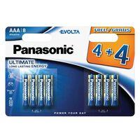 Panasonic Evolta Alkaline Batteries - Aaa (4+4 Free)