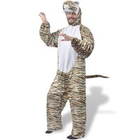 vidaXL Carnival Costume Tiger XL-XXL