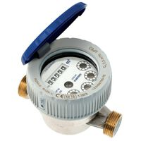 1/2 Inch Cold Water Flow Meter Single Jet Semi-dry Protected Rolls