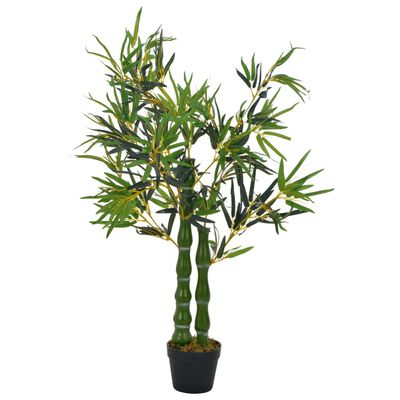 Add some greenery to your interior with this lifelike artificial bamboo. The bamboo is 110 cm high and will be a great choice for your home or office interior.