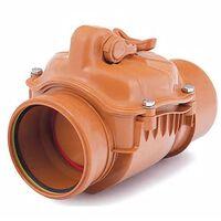 110mm Non-Return Anti-Flood Check Valve Horizontal Backwater Prevented