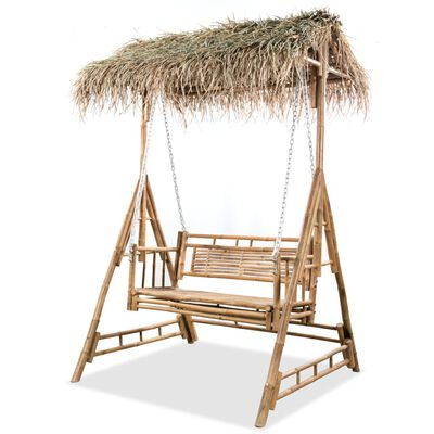 This quality 2-seater swing bench is a perfect choice for relaxation and fun with your family and friends in the garden and on the patio or balcony.