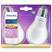 Philips LED Bulbs 2 pcs Classic 7 W 806 Lumens 929001243031