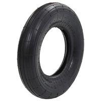 vidaXL Wheelbarrow Tyre 3.50-8 4PR Rubber