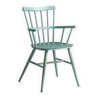 Spindle Arm Chair - Vintage Light Blue - Alu Frame