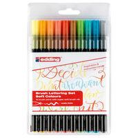 edding Brush Lettering Set 10pcs Soft Colours 1340