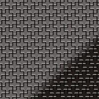 Alloy Swiss Cross-ti-sm Metal Mosaic Titanium Grey