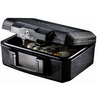 Master Lock L1200 Small Security Chest with Fire Protection