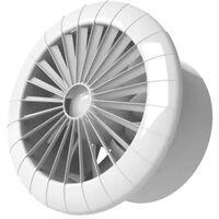 120mm Ceiling Extractor Fan Humidity Sensor 5 Inch Bathroom Fan Arid