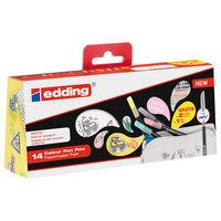 edding Colour Pen Fine 14pcs Multicolour 1200