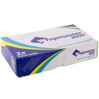 Wrapmaster 3000 Aluminium Foil Refills - 1x3x90mtr