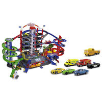 majoRETTE Play Garage with 6 Die-Cast Toy Cars Super City