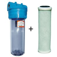 3/4 Inch Water Filter Whole House Purifier Kit Carbon Filter