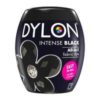 Dylon Washing Machine Fabric Dye Pod, Intense Black, 1pk Of 350g