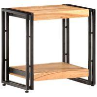 vidaXL Side Table 40x30x40 cm Solid Acacia Wood