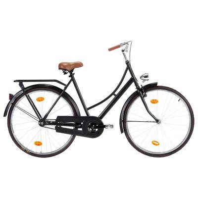 vidaXL Holland Dutch Bike 28 inch Wheel 57 cm Frame Female