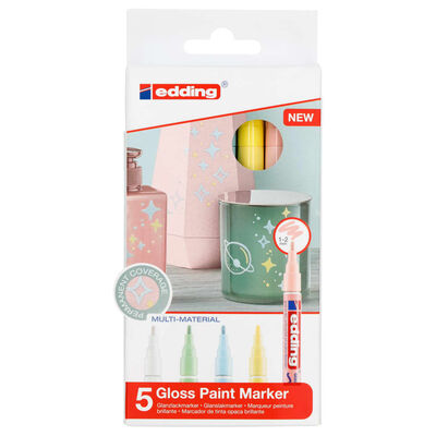 edding Gloss Paint Marker 5pcs Multicolour 751