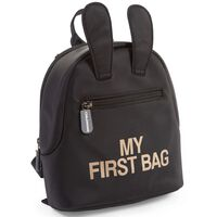 CHILDHOME Children's Backpack My First Bag Black