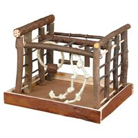 TRIXIE Bird Playground Natural Living 35x29x25 cm Wood 5661