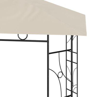 vidaXL Gazebo 3x3x2.7 m Cream 160 g/m²
