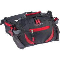 Abbey Outdoor Waist Bag Anthracite and Red 21QE-AGR-Uni