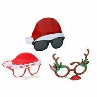 Assorted Design Christmas Glass Christmas Funny Gift