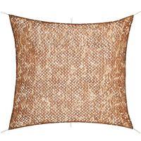 vidaXL Camouflage Netting with Storage Bag 6x6 m