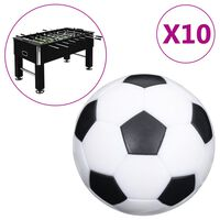 vidaXL Football Table Balls 10 pcs 32 mm ABS