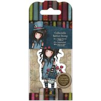 Gorjuss Collectable Mini Rubber Stamp No. 29 The Hatter