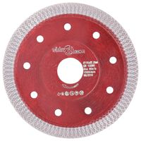 vidaXL Diamond Cutting Disc with Holes Steel 115 mm