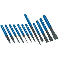 Draper Tools 12 Piece Cold Chisel and Punch Set 26557