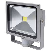 YATO LED Lamp with Motion Detector 30 W Grey