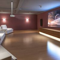 NewStar Universal Projector Ceiling Mount Adjustable 13-106 cm Silver
