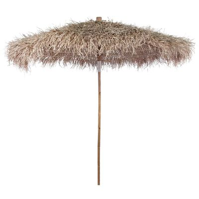 This high-quality parasol with a banana leaf roof is perfect to filter out harmful UV rays, and protect you from the sun in the garden, or on the terrace or patio. It can also be used for exhibitions, bars or restaurants.