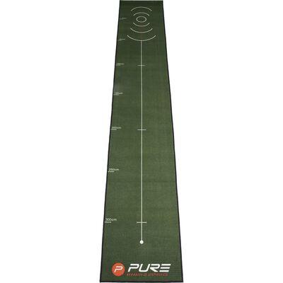 Pure2Improve Golf Putting Mat 400x66 cm
