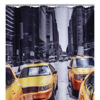 RIDDER Shower Curtain New York 180x200 cm