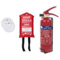 Smartwares Fire Safety Set 4 Piece