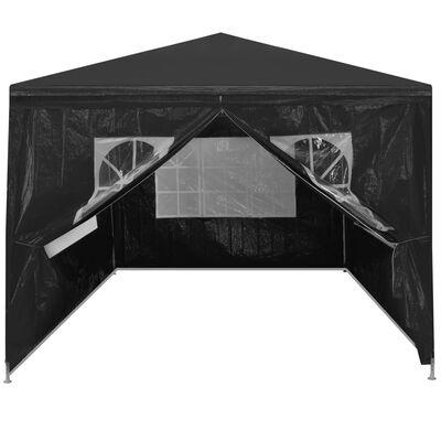 vidaXL Party Tent 3x4 m Anthracite