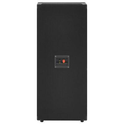 vidaXL Professional Passive Hifi Stage Speakers 2 pcs 1000 W Black