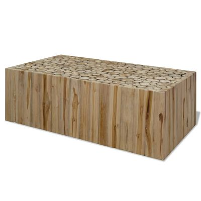 This unique coffee table will make a distinctive addition to your decor. It can also be used as a side table or end table.